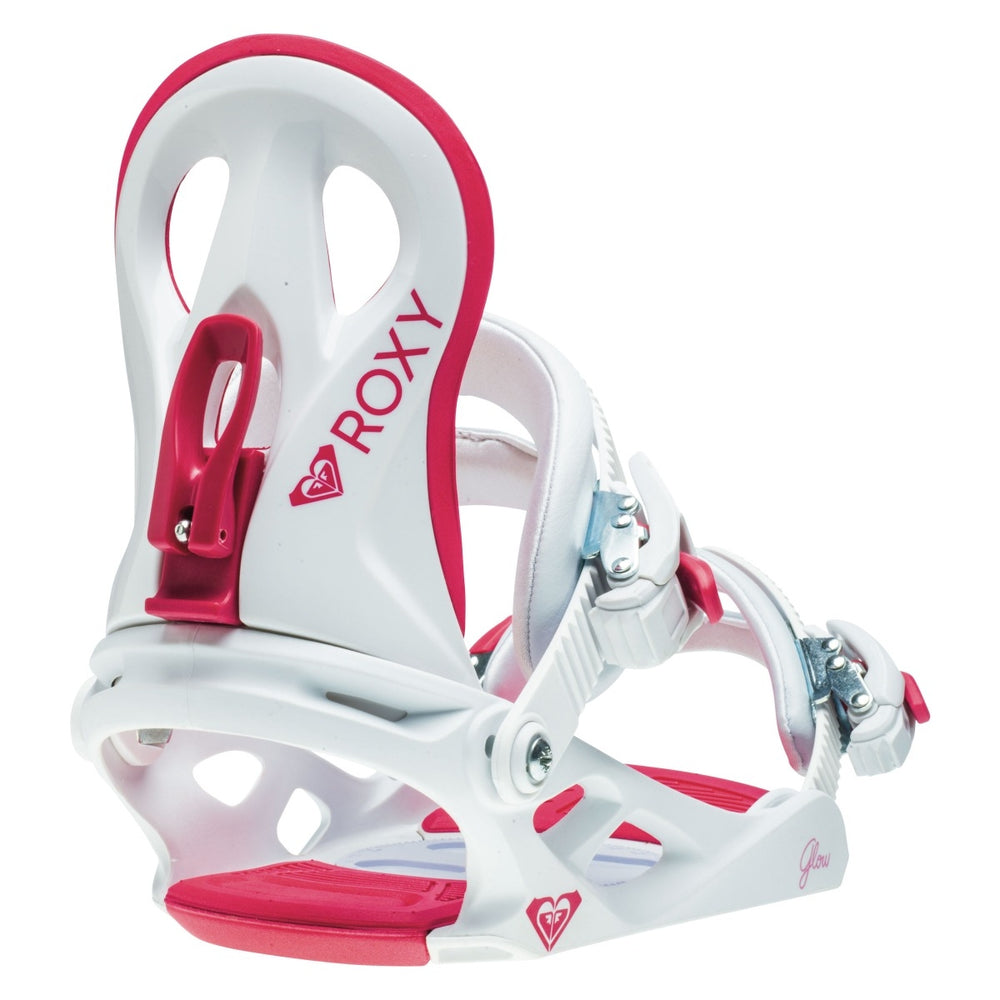 Womens Roxy Glow White Snowboard Bindings