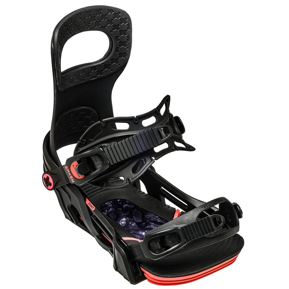 Mens Bent Metal Joint Snowboard Bindings Charcoal