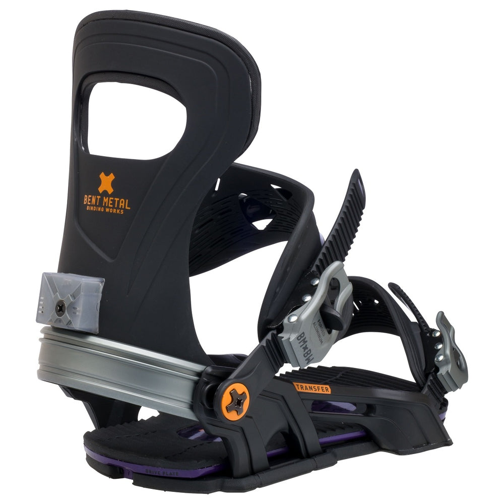 Mens Bent Metal Transfer Snowboard Bindings Slate
