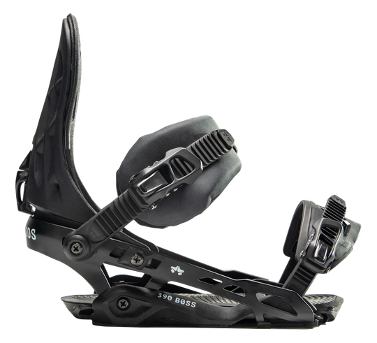 Mens Rome 390 Boss 2020 Snowboard Bindings Black