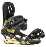 Mens Rome Snowboards Bindings D.O.D. G3 Yellow GRIT