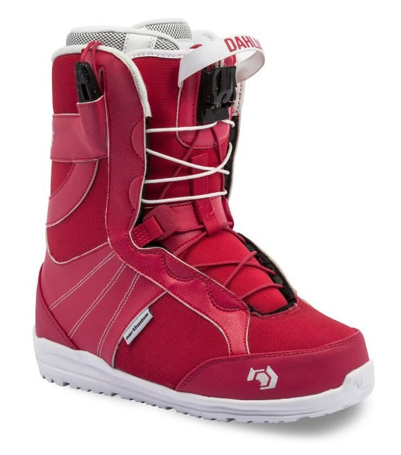 Womens Northwave Dahlia Red Snowboard Boots