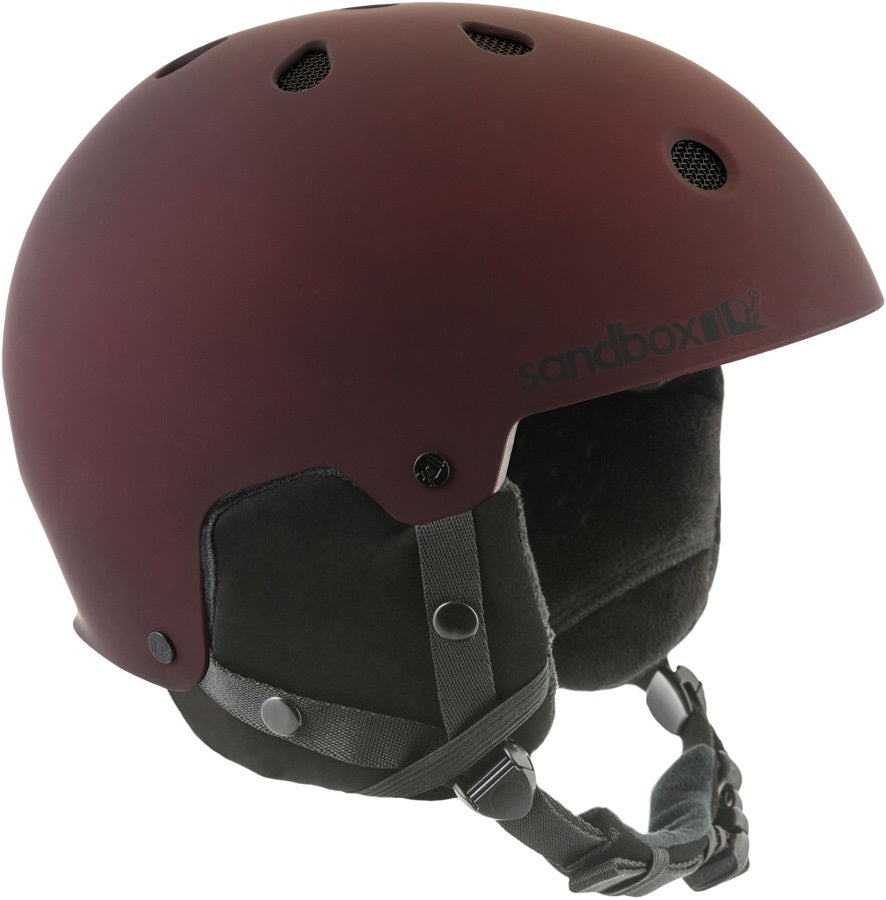 Unisex Sandbox Legend Apex Ski/Snowboard Helmet Bordeaux