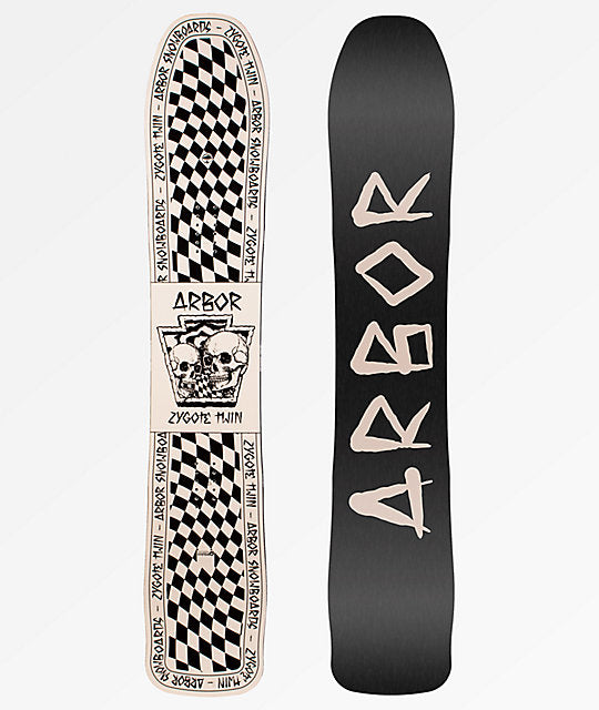 Mens Arbor Zygote Twin Snowboard (2019) RARE EX-DISPLAY -30%
