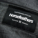 Mens Horsefeathers Barge Pants Grey