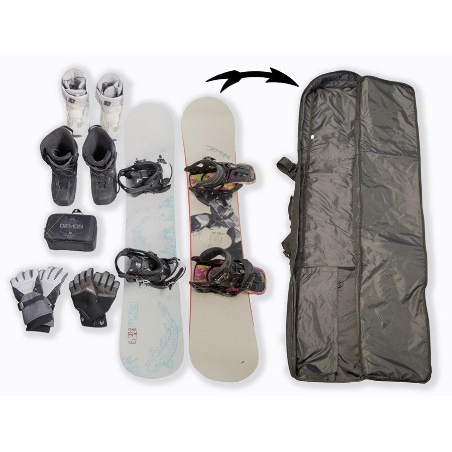 Demon Phantom Travel Snowboard Bag 170cm
