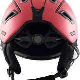 2019 Dirty Dog Saturn Shiny Red Ski/Snowboard Helmet