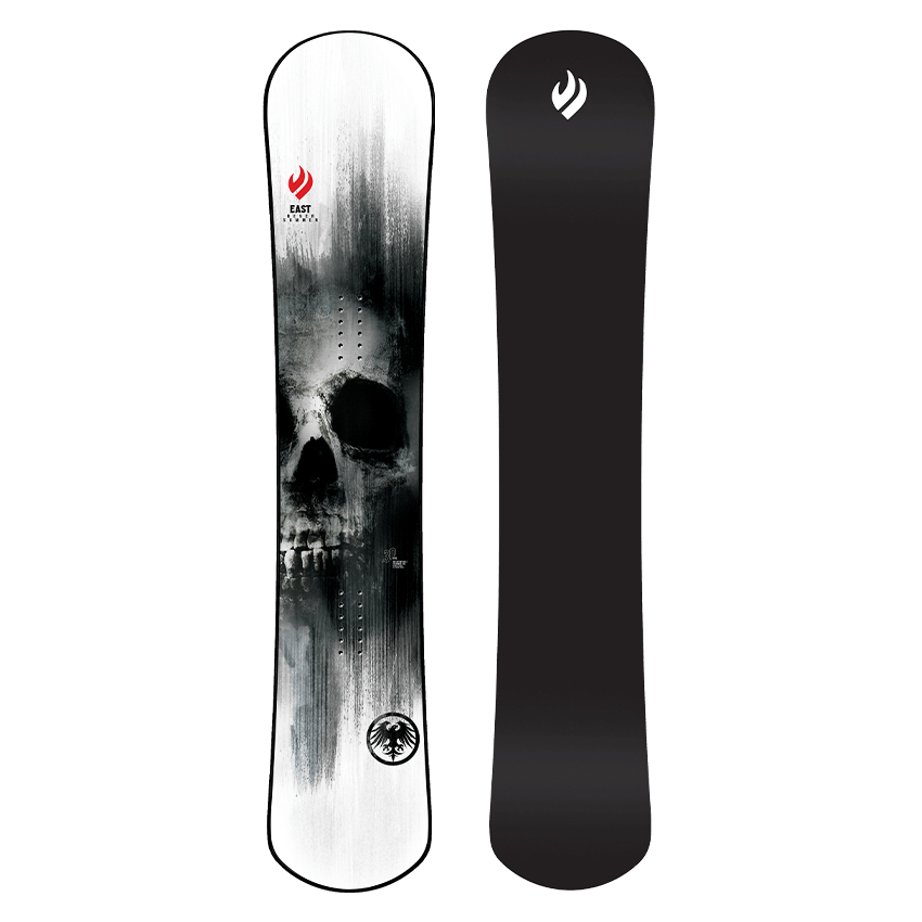 Mens Never Summer East Freecarve Snowboard
