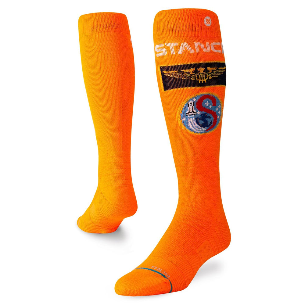 Mens Stance Launch Pad Orange Socks