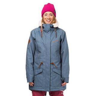 Womens Horsefeathers Mica Jacket Light Denim