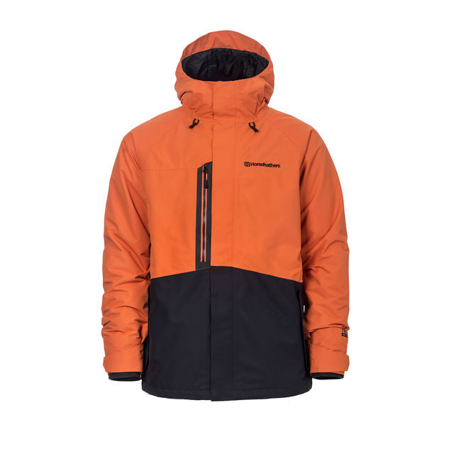Mens Horsefeathers Barkell Jacket Jaffa Orange