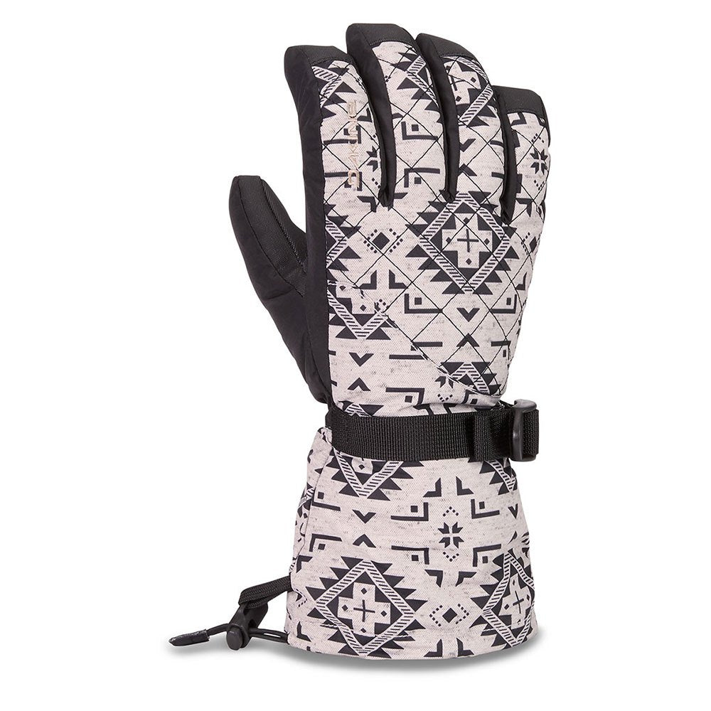 Womens Dakine Lynx Silverton Patterned Gloves