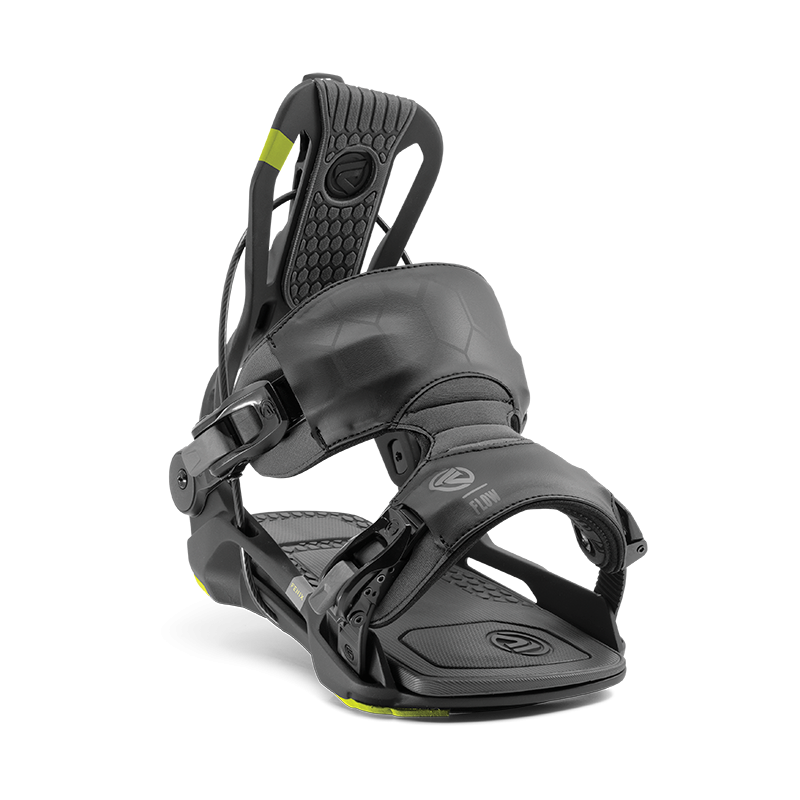 Mens Flow Fenix Fusion Black Snowboard Bindings