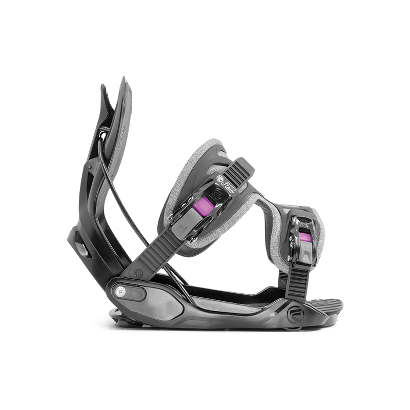 Womens Flow Haylo Exo-Fit Black Snowboard Bindings
