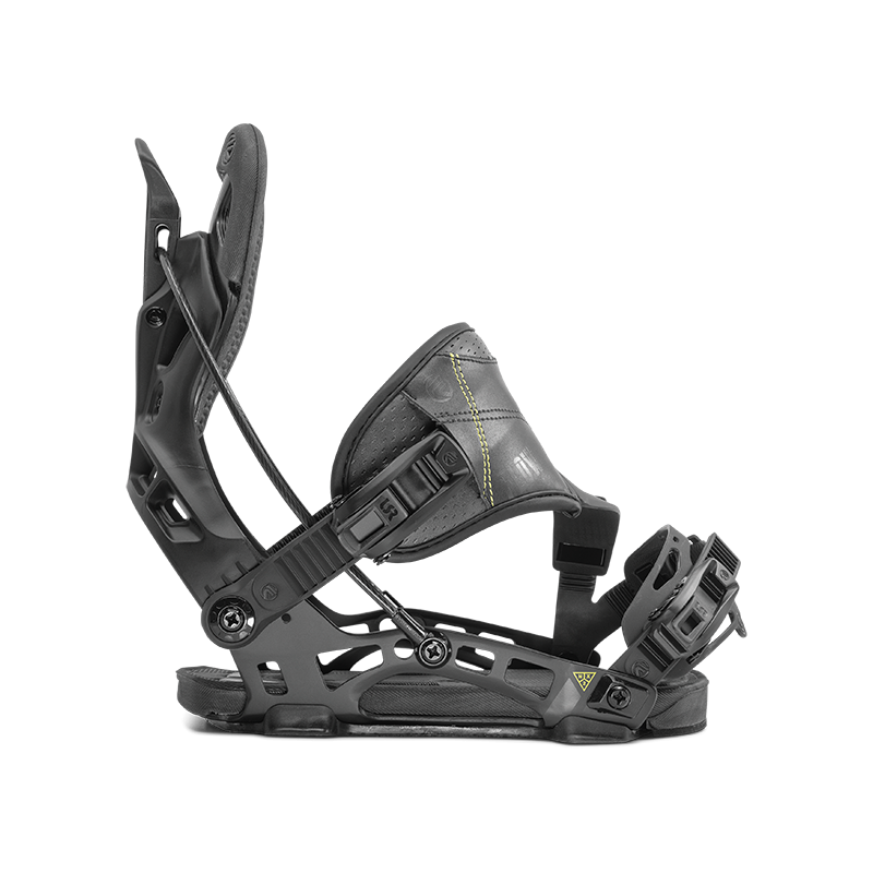 Mens Rome NX2 Hybrid Black Snowboard Bindings
