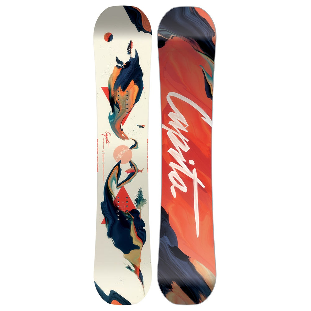 Womens Capita Space Metal Fantasy Snowboard
