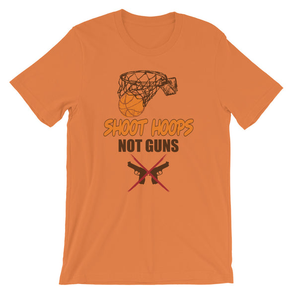 Shoot Hoops Not Guns T-Shirt