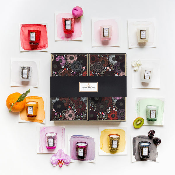 Assorted - Japonica Archive 12 Votive Gift Set - 3