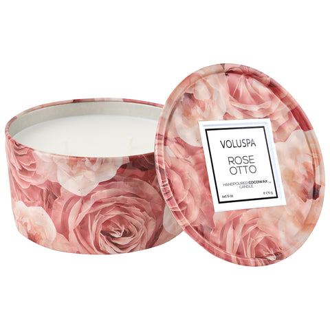 Rose Otto - 6 oz Tin Candle