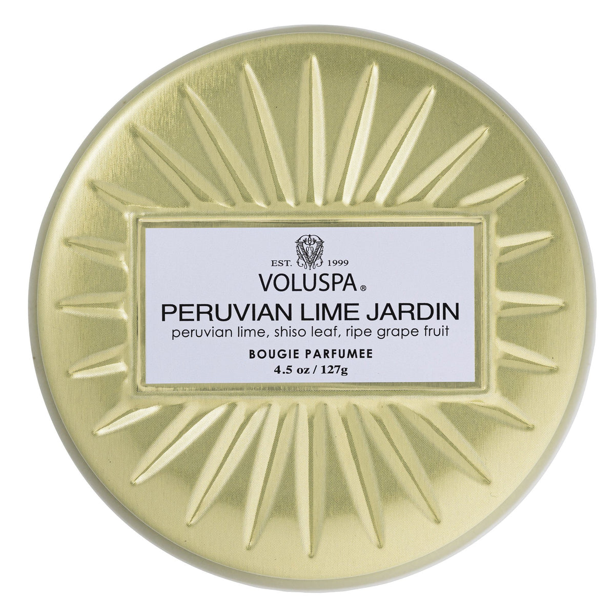Peruvian Lime Jardin - Mini Tin Candle - 2