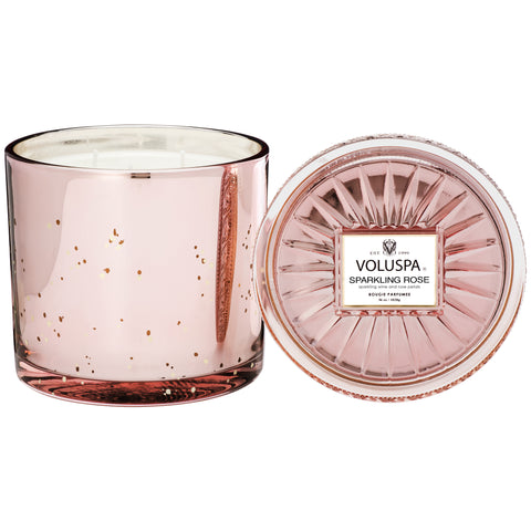 Powerful In Pink - Sparkling Rose 3 Wick Grande Maison Candle