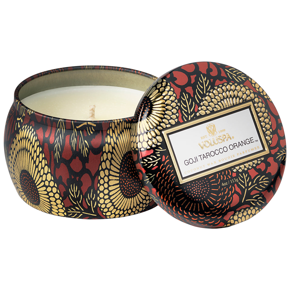 Goji Tarocco Orange - Petite Tin Candle - 1