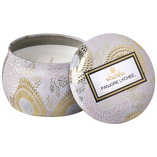Panjore Lychee - Petite Tin Candle - 1