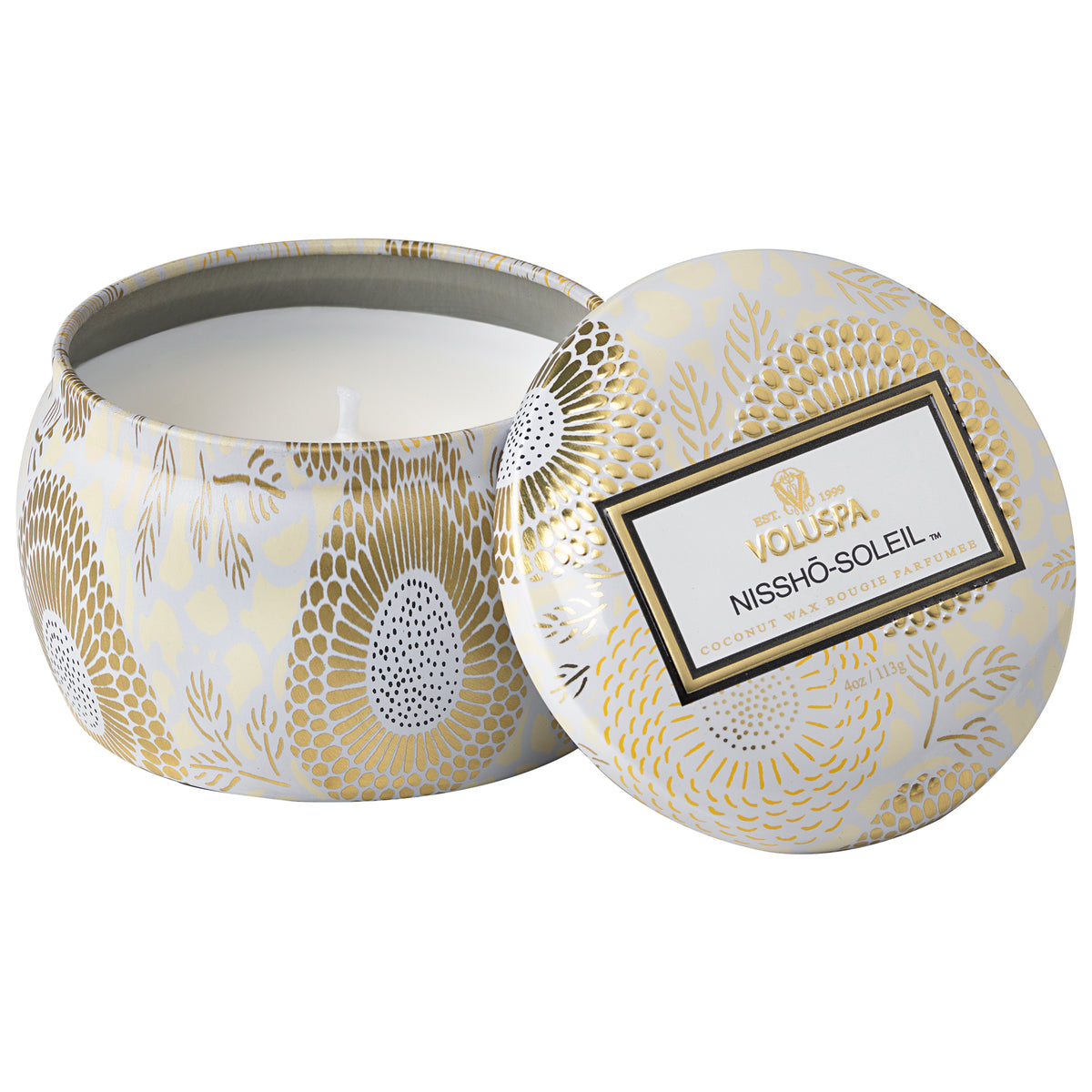 Nissho-Soleil - Petite Tin Candle - 1