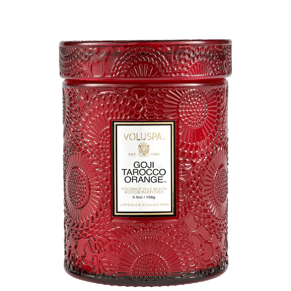 Goji Tarocco Orange - Small Jar Candle - 1