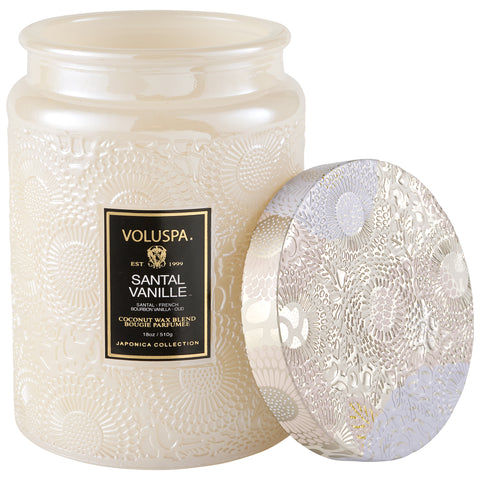 Santal Vanille - Large Jar Candle