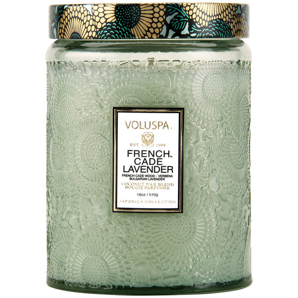 French Cade Lavender - Large Jar Candle - 1