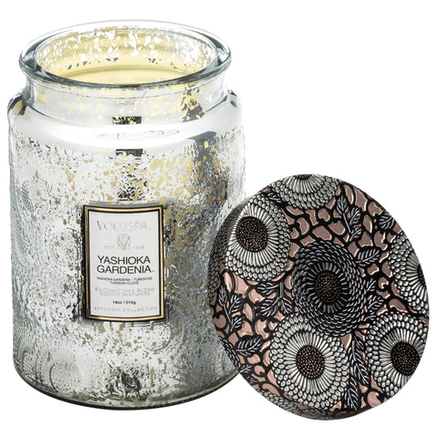 Yashioka Gardenia - Large Jar Candle
