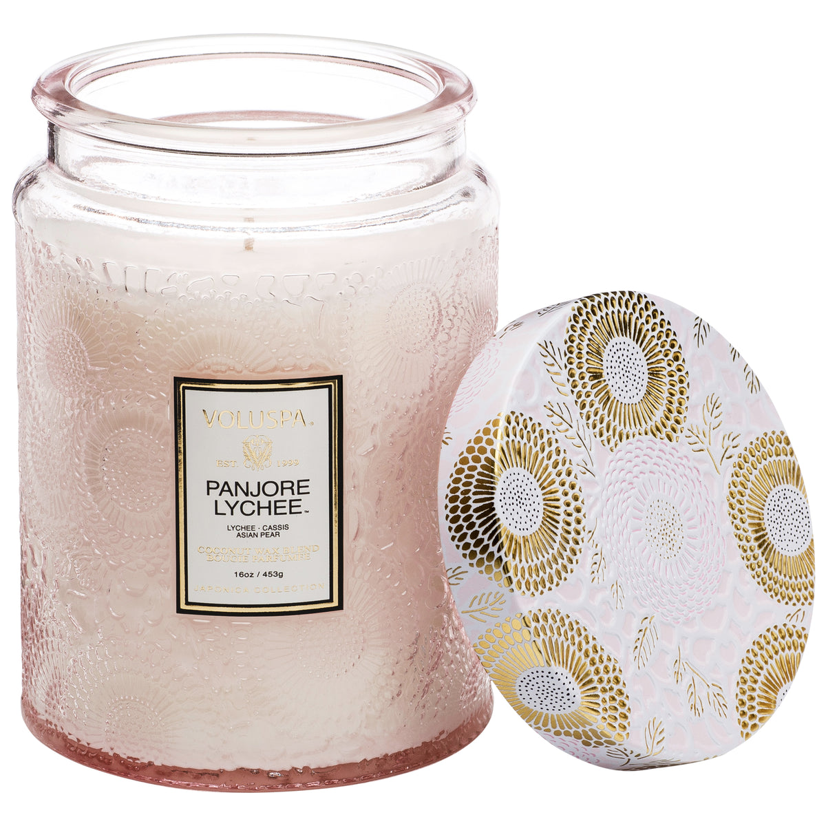 Panjore Lychee - Large Jar Candle - 2