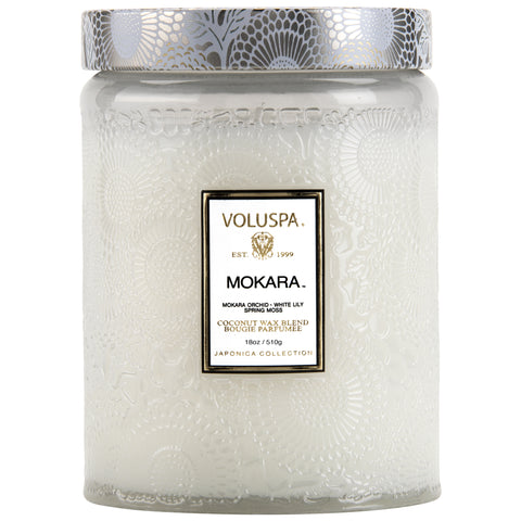 Mokara - Large Jar Candle