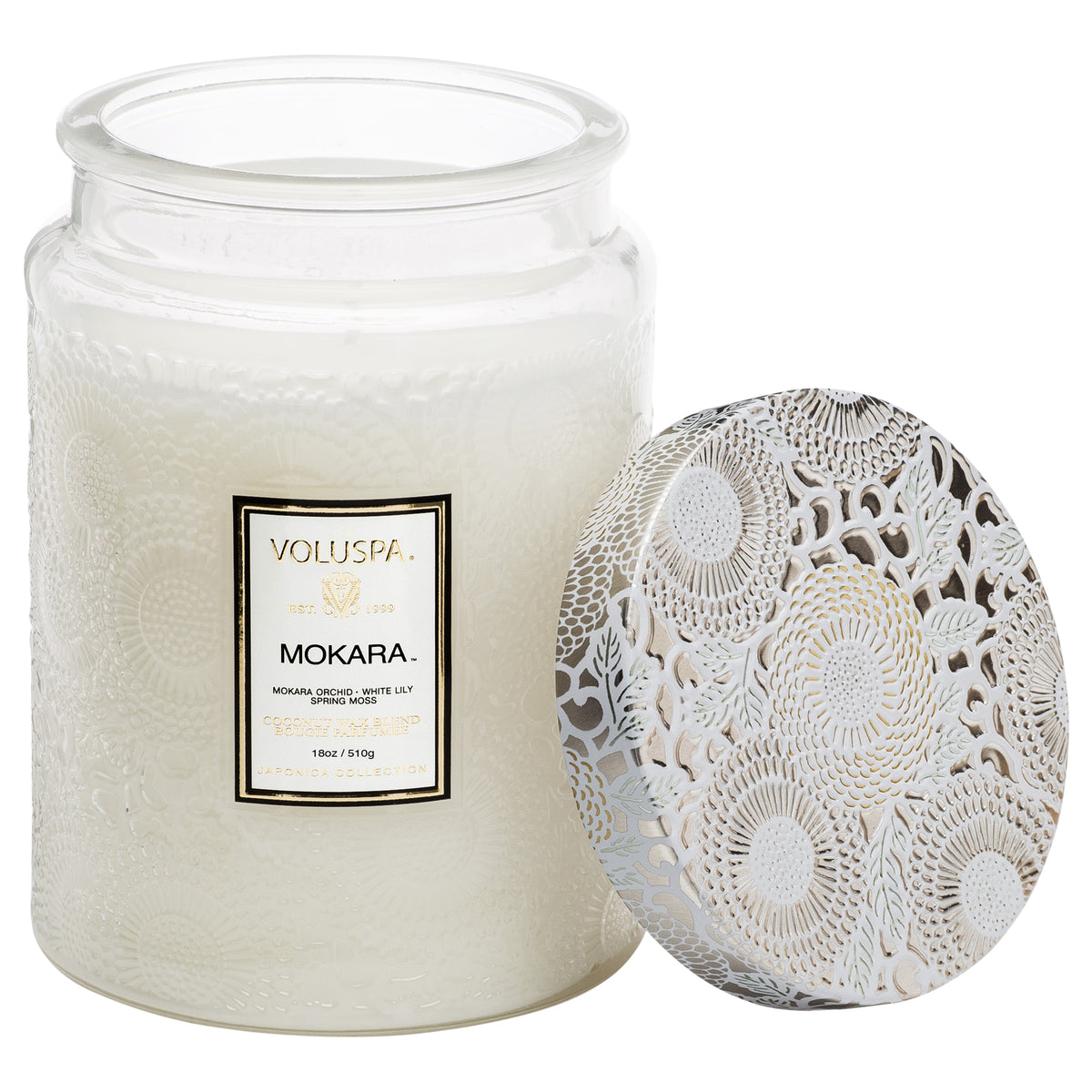 Mokara - Large Jar Candle - 2