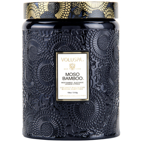 Moso Bamboo - Large Jar Candle