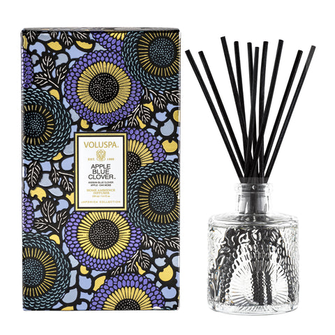 Apple Blue Clover - Reed Diffuser