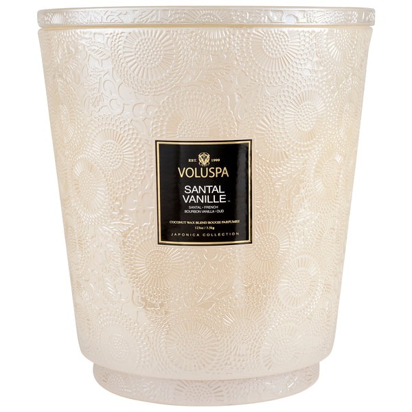 Santal Vanille - 5 Wick Hearth Candle - 1