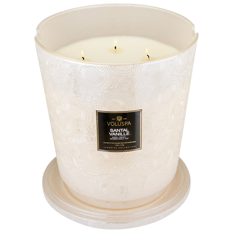 Santal Vanille - 5 Wick Hearth Candle