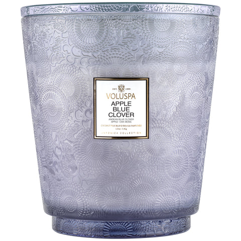 Apple Blue Clover - 5 Wick Hearth Candle