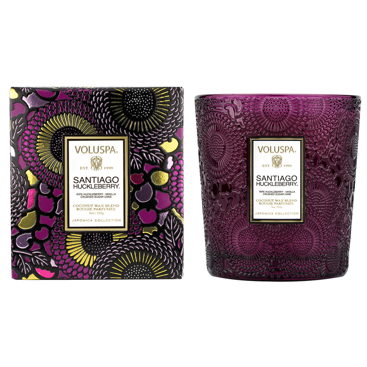Santiago Huckleberry - Classic Candle - 1