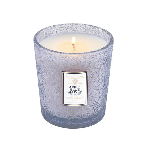 Apple Blue Clover - Classic Candle