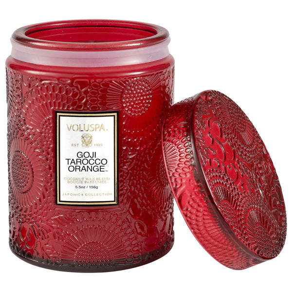 Goji Tarocco Orange - Small Jar Candle - 2