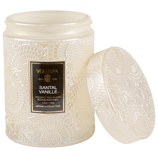 Santal Vanille - Small Jar Candle - 2