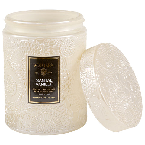 Santal Vanille - Small Jar Candle