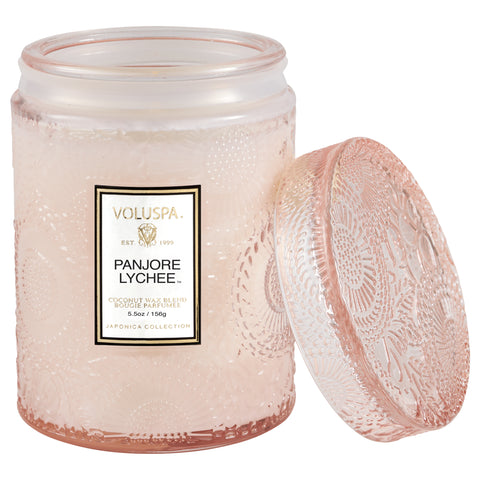Panjore Lychee - Small Jar Candle