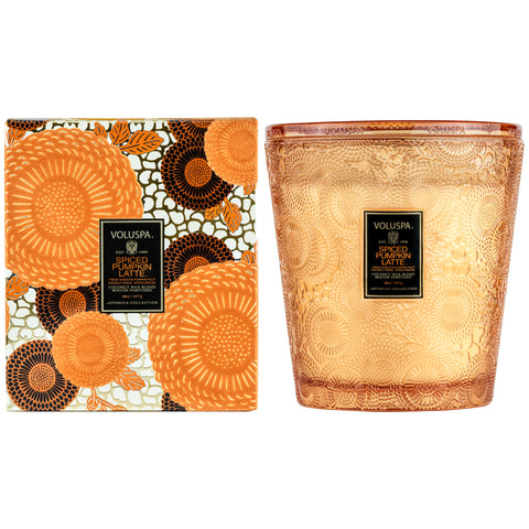 Spiced Pumpkin Latte - 3 Wick Hearth Candle