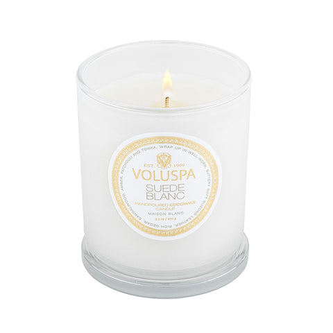 Suede Blanc - Classic Candle