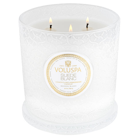 Suede Blanc - Luxe Candle