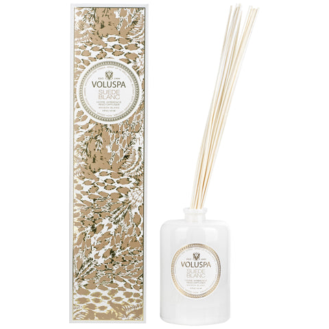 Suede Blanc - Reed Diffuser